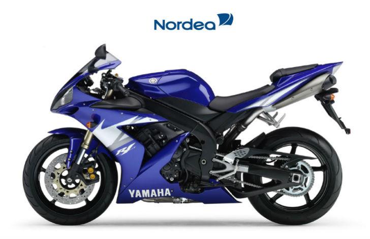 мотоцикл в кредит в Нордеа Банке