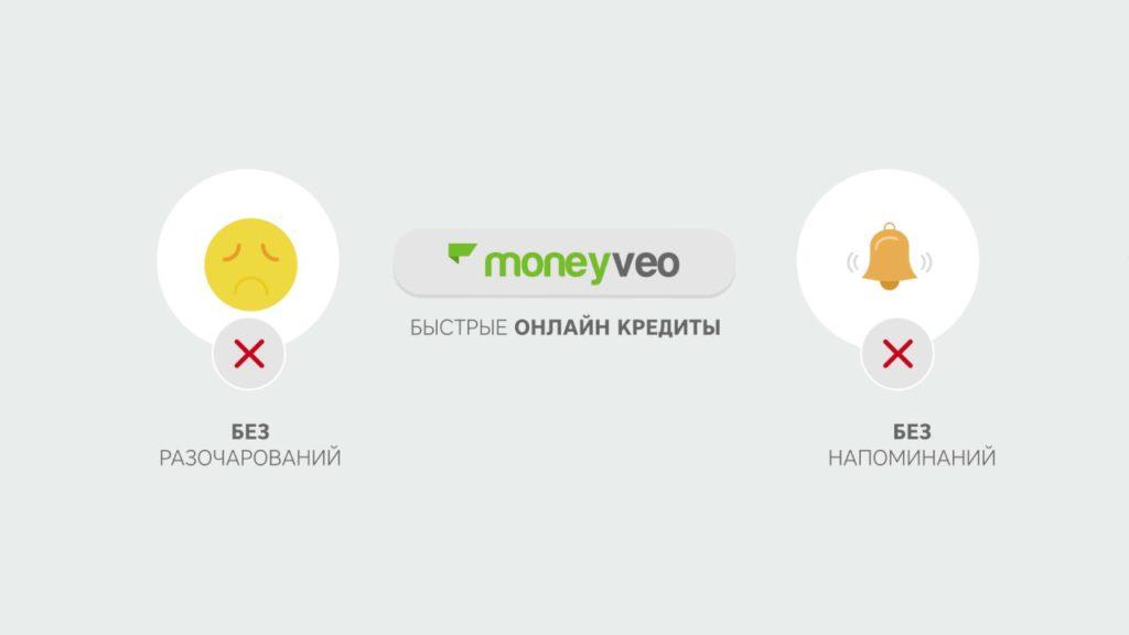 Moneyveo кредит без отказа