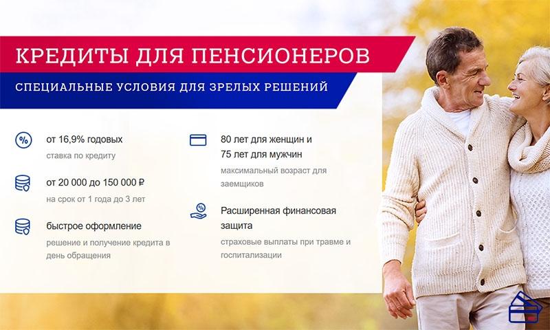 Пенсионный Почта Банк кредит