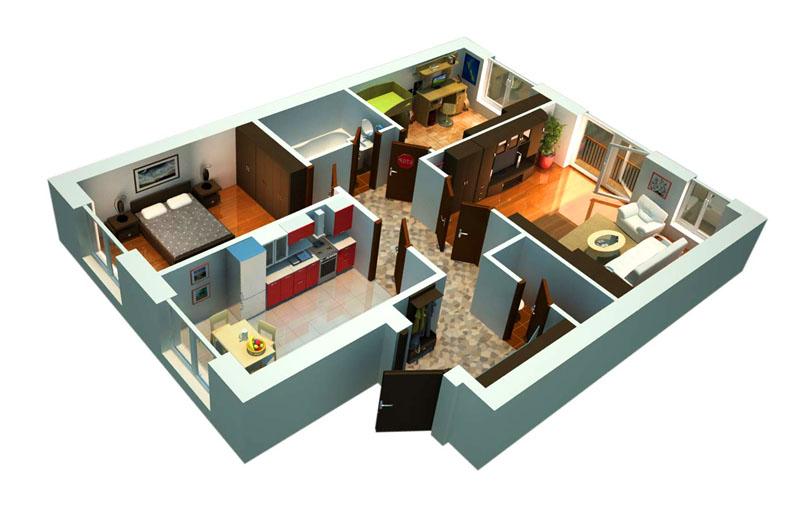 Безопасная покупка трехкомнатной квартиры